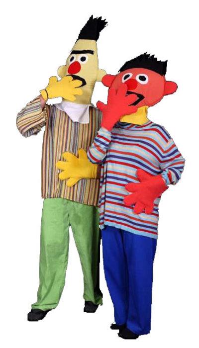 Bert & Ernie kostuums