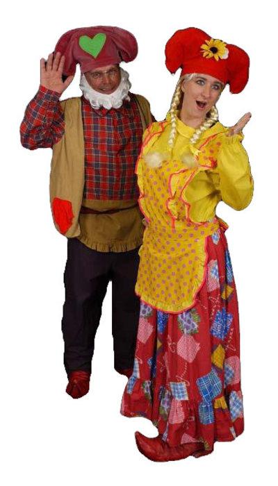 Kabouter Plop & Kwebbel kostuum - 297