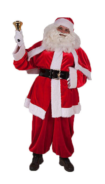 Kwaliteits Kerstman kostuum huren