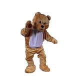 Mascotte beer kostuum huren - 122