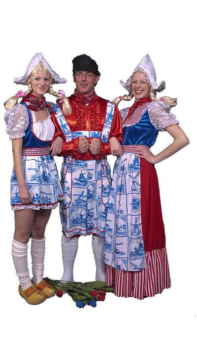 Boer & boerinnen kostuums huren