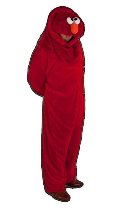 Elmo kostuum huren