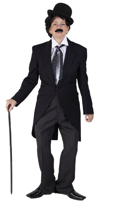 Charlie Chaplin kostuum huren