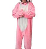 Roze paashaas kostuum huren