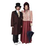 Dickens kostuum met hoge hoed