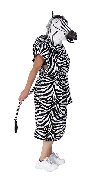 Zebra kostuum huren
