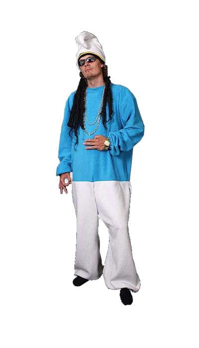Rap smurf kostuum huren - 392