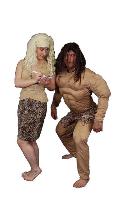 Tarzan en Jane kostuum huren