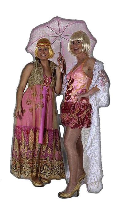 Burlesque jurkje huren