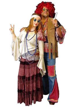 Jaren '60 '70 Hippies & Disco