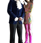 Austin Powers kostuum huren - 145