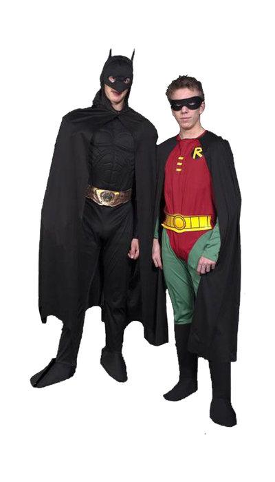 Batman & Robin kostuum huren - 150