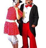 Mickey & Minnie Mouse kostuum huren - 285