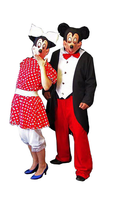 Mickey & Minnie Mouse - 285