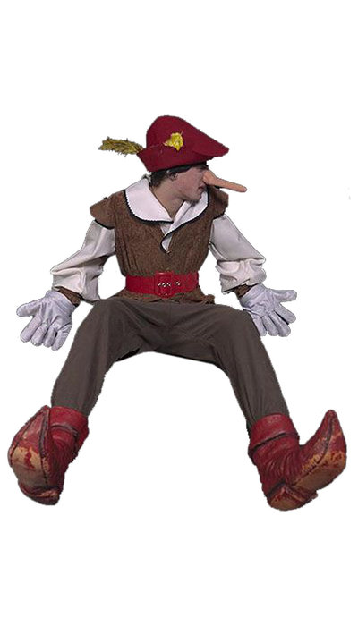 Pinokkio kostuum - 189
