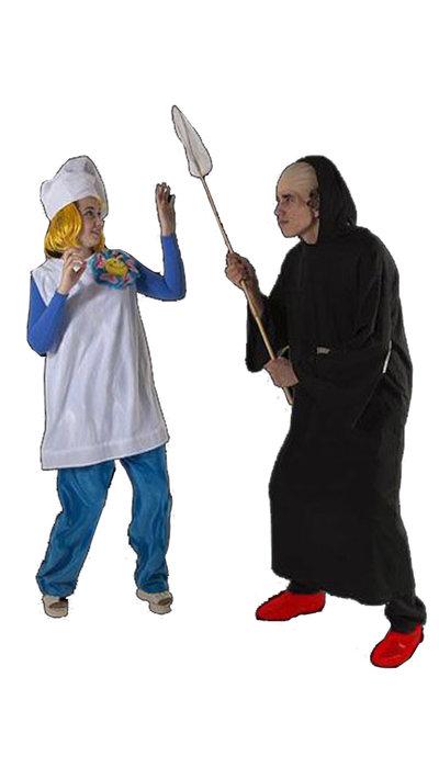 Smurfin & Gargamel - 433