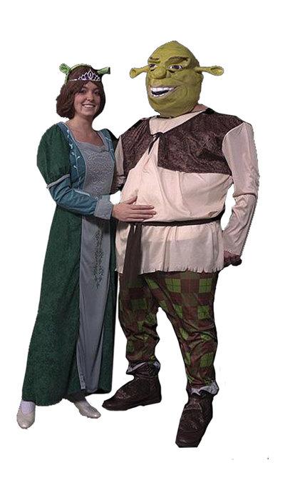 Shrek & Fiona kostuums huren - 428