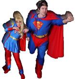 Superman & Superwoman kostuum huren