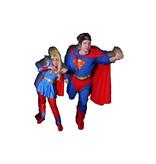 Superman & Superwoman kostuum huren - 200