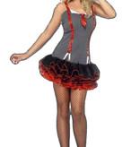 Gangster meisje kostuum huren - 319