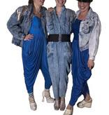 Blauwe jaren 80 kostuums huren