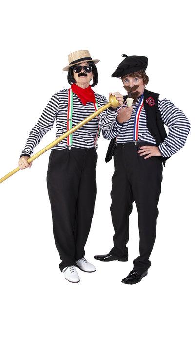 Italiaans gondelier kostuum huren