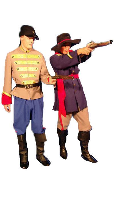 Amerikaanse burgeroorlog kostuums - 245