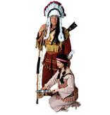 Indianen Opperhoofd kostuum  huren - 342
