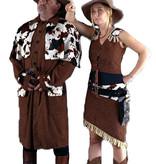 Cowboy en cowgirl kostuum huren - 261