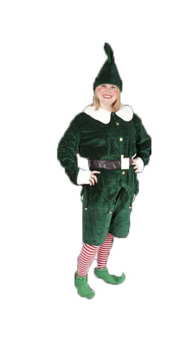 Kerst-elf kostuum huren