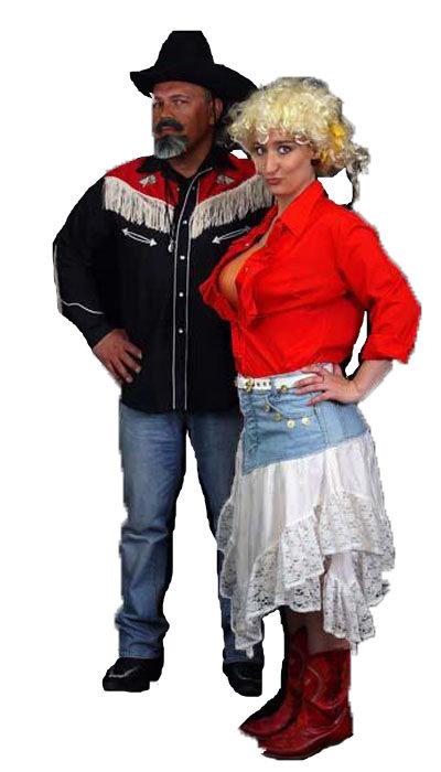 Dolly Parton kostuum huren - 167