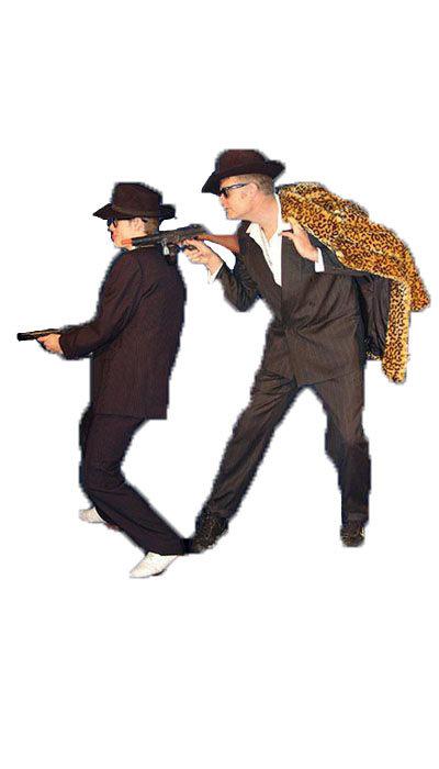 Gangsters kostuum huren - 211