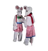 Wit muizen kostuum huren - 135