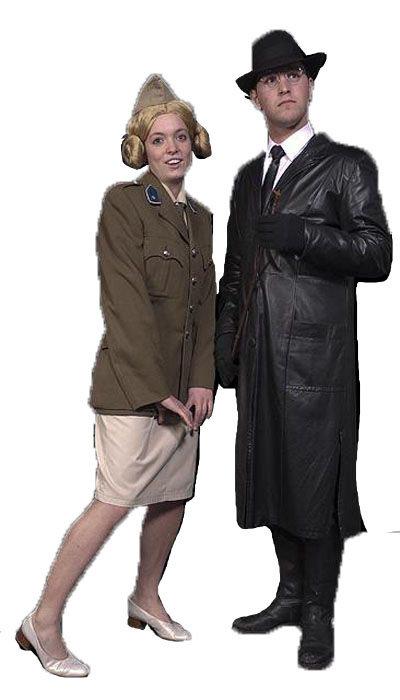 Herr Flick & Helga kostuum