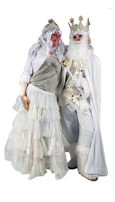 Koning & Koningin winter kostuum