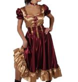 Saloongirl jurk huren - 420