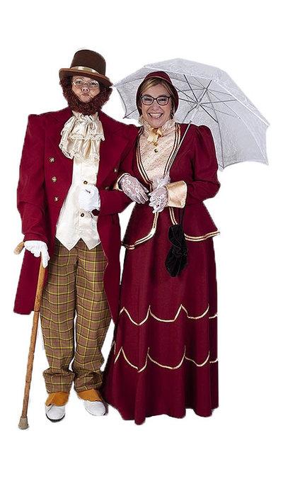 Dickens kerst kostuums - 2
