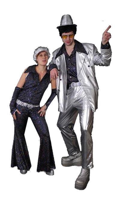Seventies disco kostuum