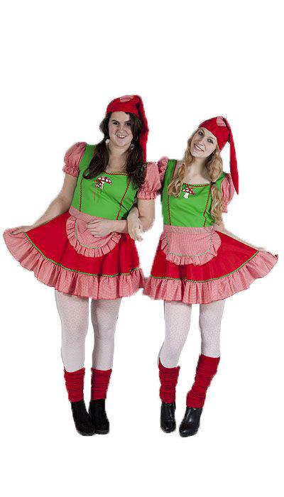 Kaboutermeisjes kostuums huren