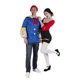 Popeye en Olijfje kostuum huren