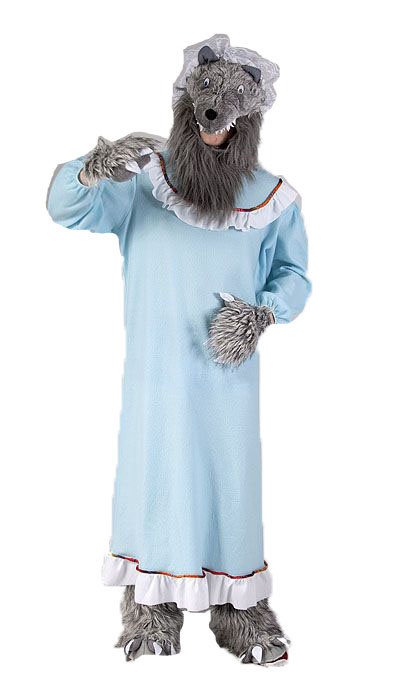 Boze wolf kostuum huren