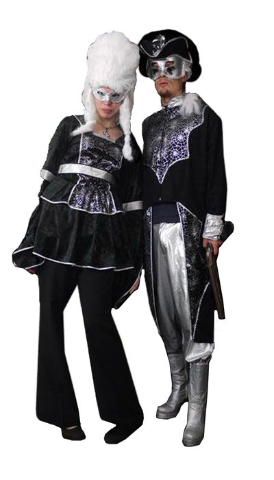 Edelman en Edelvrouw kostuum - 307