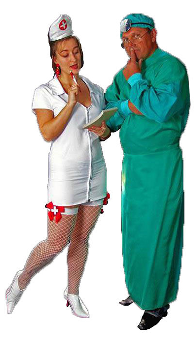 Verpleegster & Chirurg kostuum huren