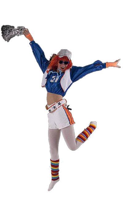 Cheerleader kostuum huren
