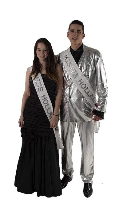Mr Holland kostuum en Miss Holland kostuum huren - 377