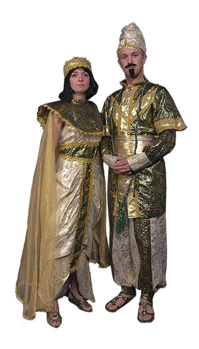 Oosterse prins en prinses - 401