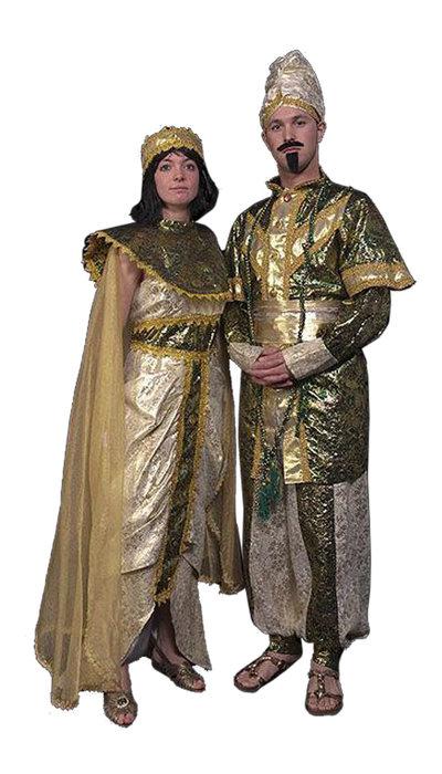 Oosterse prins en prinses kostuum huren - 401