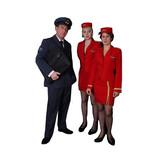 Piloot & Stewardess kostuum huren - 393