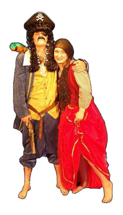 Piraat en piratenliefje - 407