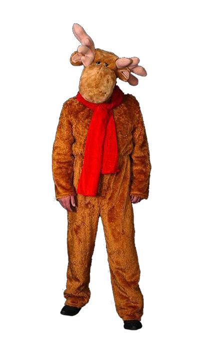 Rendier kostuum kerst huren